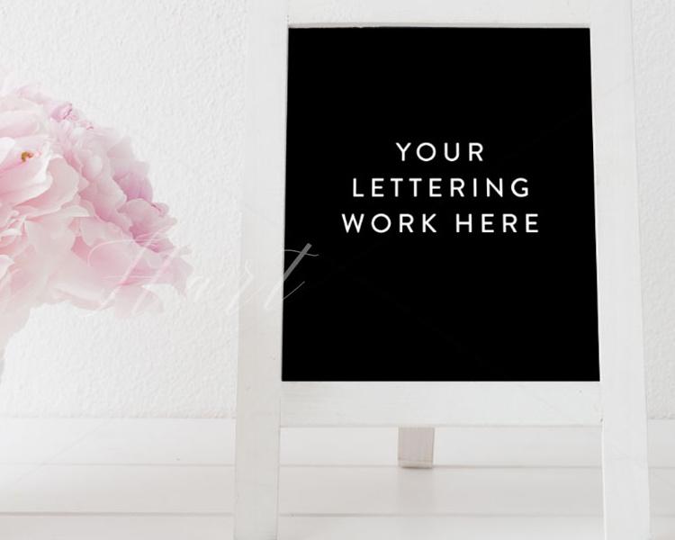 pink-floral-chalkboard-mock-up