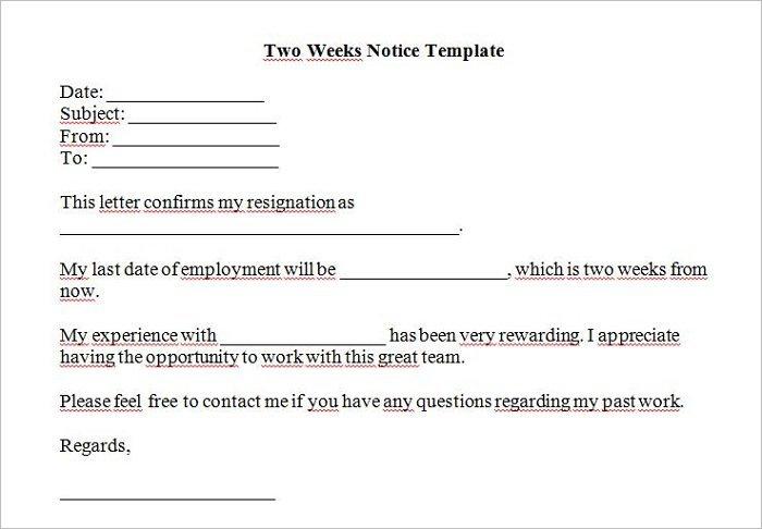 premium-two-week-notice-template