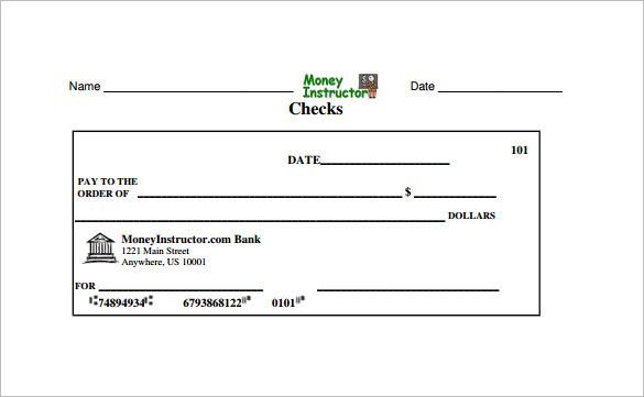 31 blank check templates free premium templates