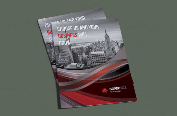 professional-bi-fold-brochure-template