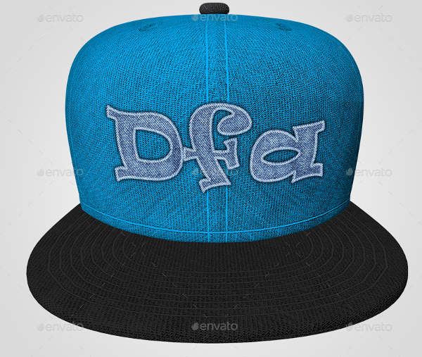 Realistic Baseball Cap Mock-Up