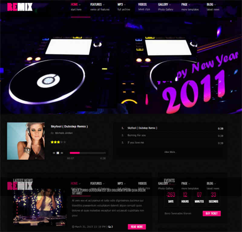 remix-music-band-club-party-event-commerce-theme
