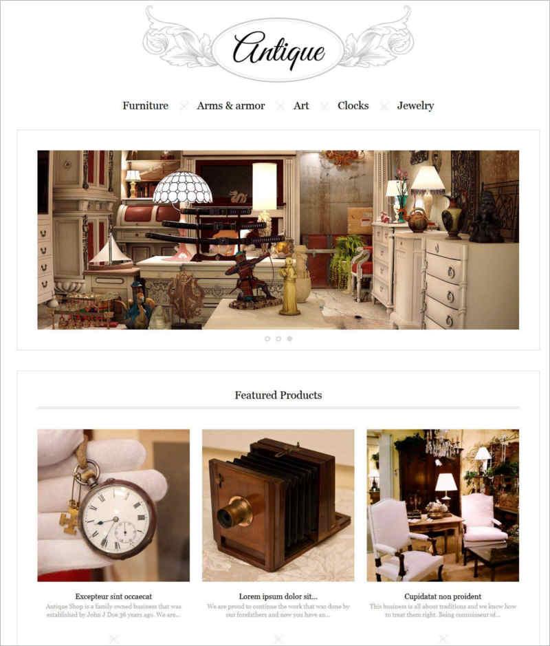 responsive-antiques-store-prestashop-theme