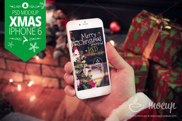 santaclaus-iphone-mock-up