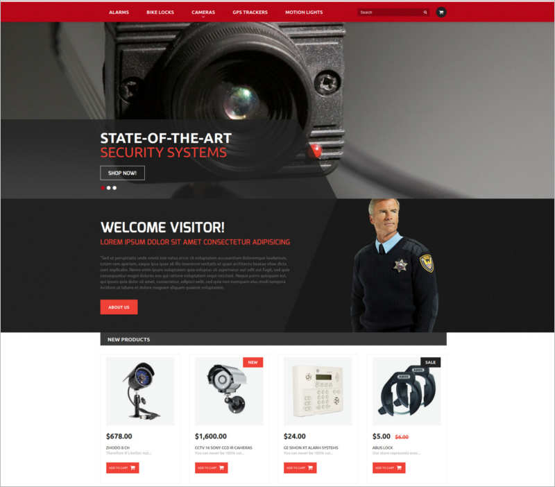 security-products-store-magento-theme