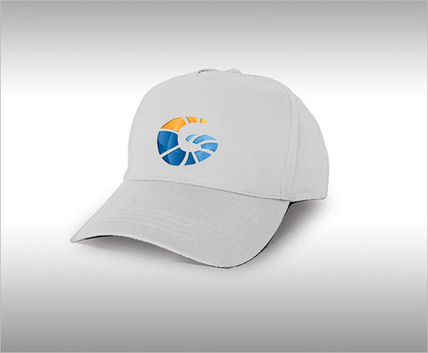 Semi Truck and Uniform Cap Mockup