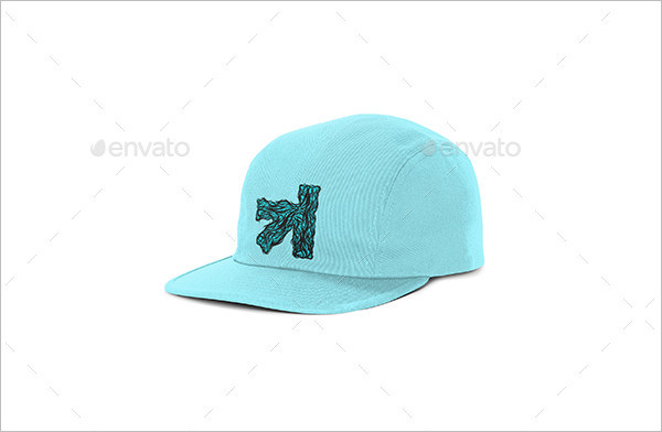Snapback FullCap Mockup PSD with Artboards Feature