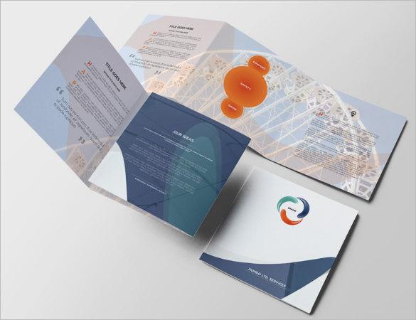 square-business-brochure-design-template