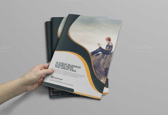 startup-business-bifold-brochure-template
