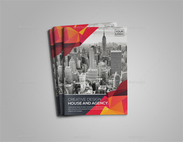 targeting-bi-fold-brochure-template