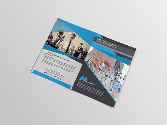 technology-bi-fold-brochure-template