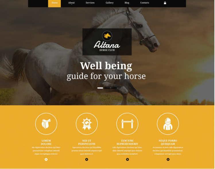 traning-horse-joomla-template