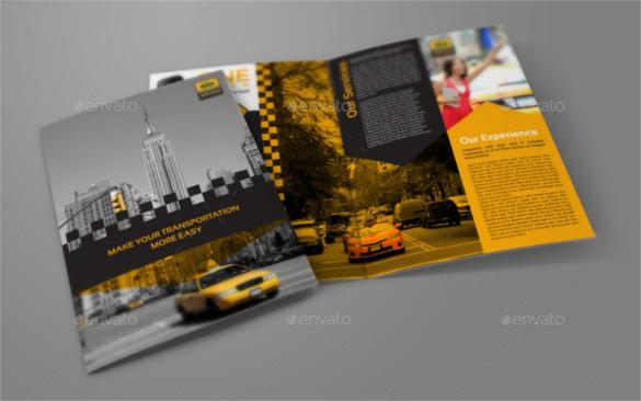 transportation-bi-fold-brochure-template