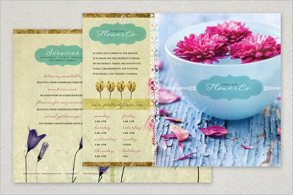 trendy-floral-brouchure