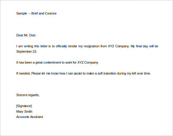 two-weeks-notice-brief-concise-templates