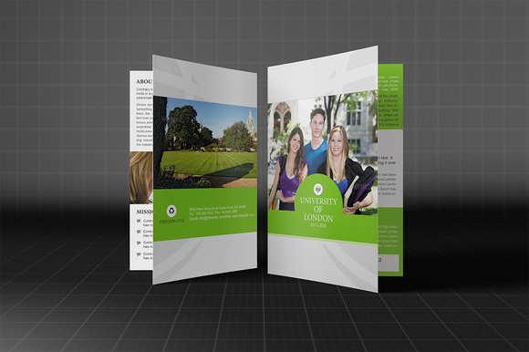 university-bi-fold-brochure-template