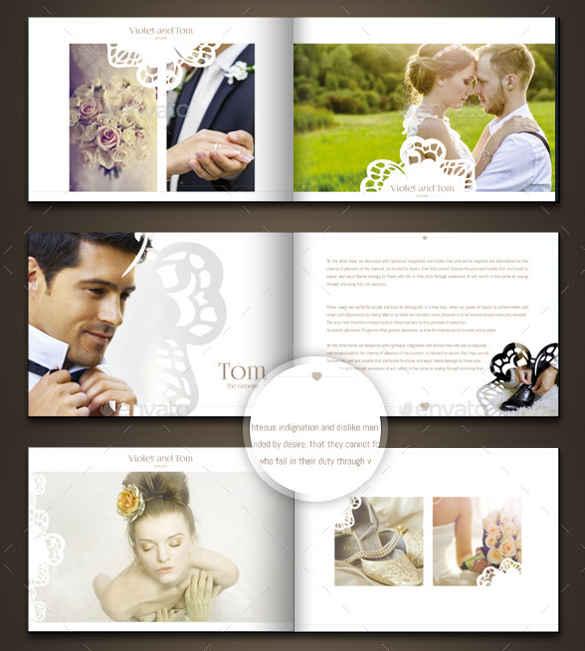 wedding-photo-album-horizontal-brochure-template