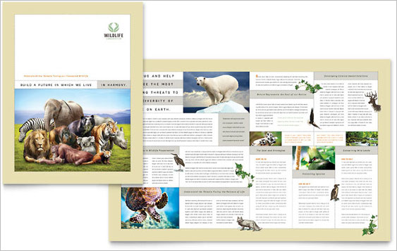 wild-life-conservation-brochure-template
