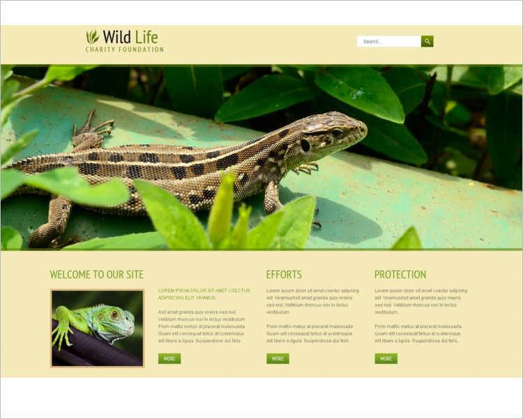 wild-life-joomla-template