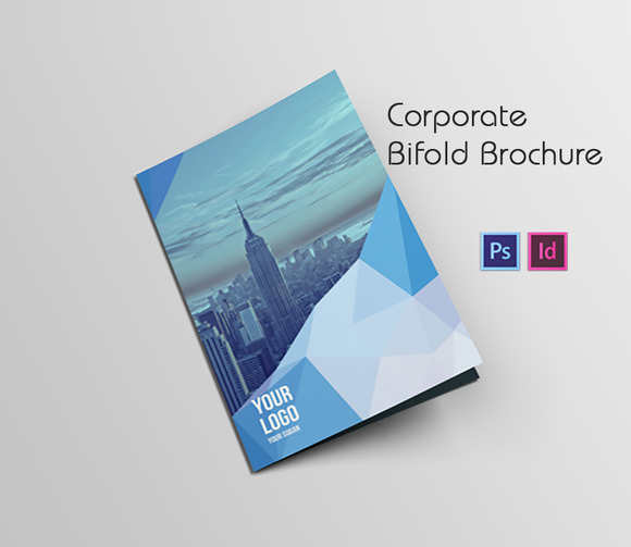 Bi Fold Brochure Templates Free Premium Creative Template - Foldable brochure template