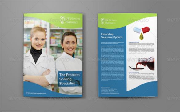 pharmaceutical-bi-fold-brochure-template