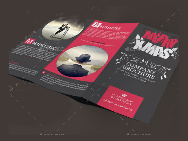 adverstising-christmas-x-mass-trifold-brochure