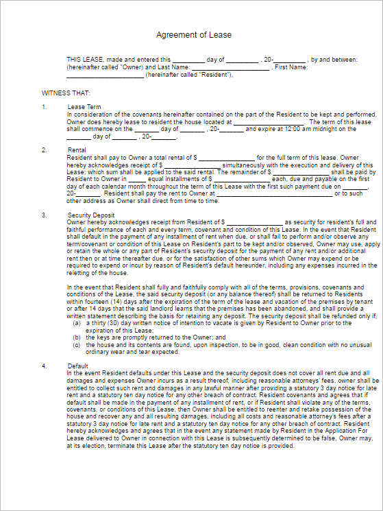 agreement-of-lease-form