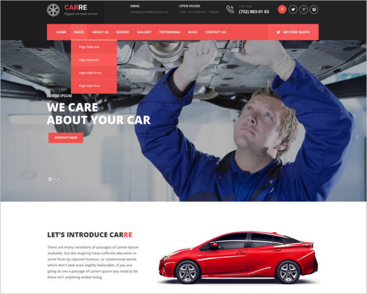 auto-car-mechanic-html5-website-template