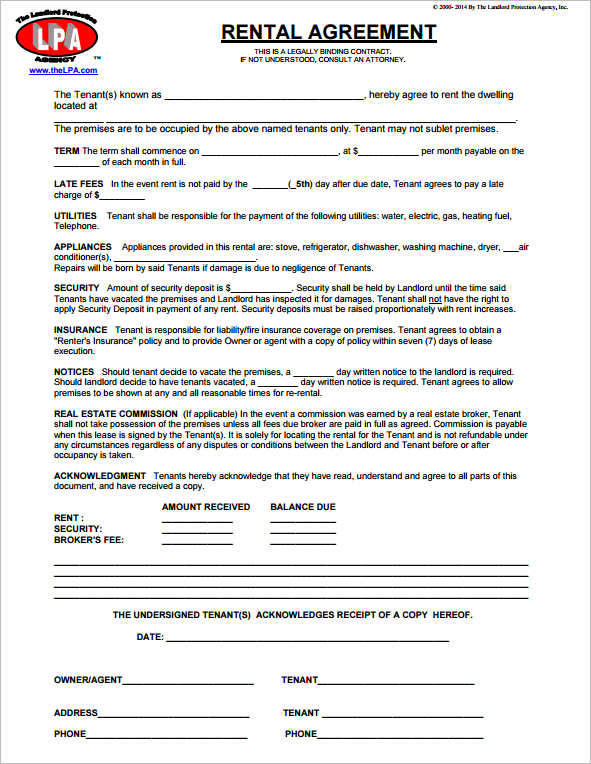 basic-rental-application-form-template