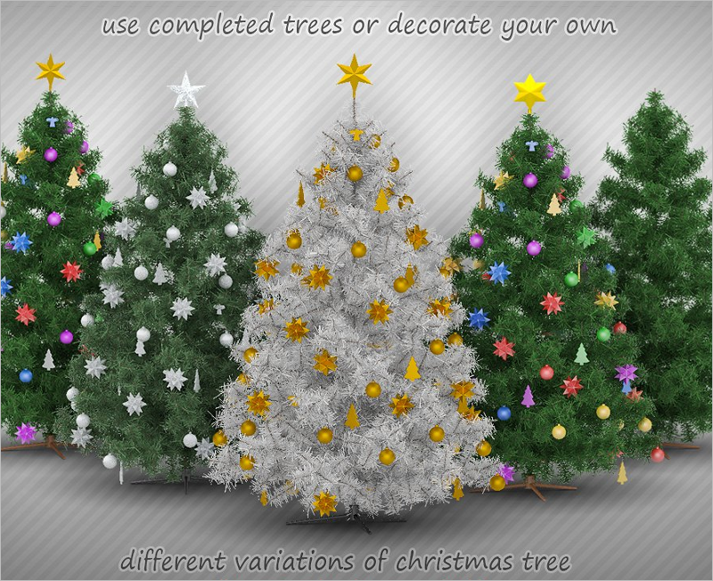Best Christmas Tree Mockup Designs