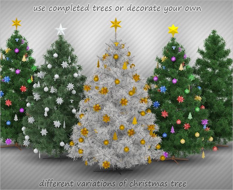 Best Christmas Tree Mockup Designs