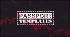 24+ Free Printable Passport Templates