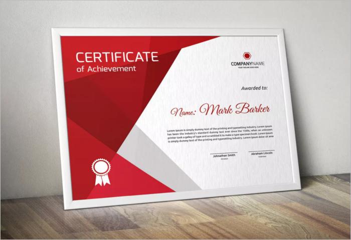 Blank Stock Certificate Template PDF