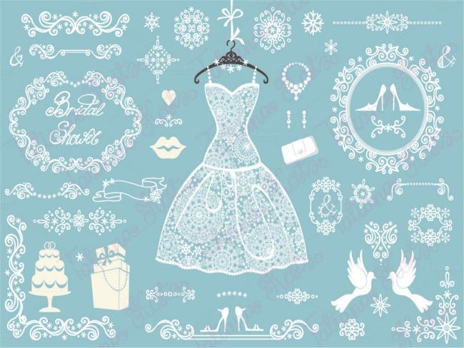 bridal-openwork-wedding-frame