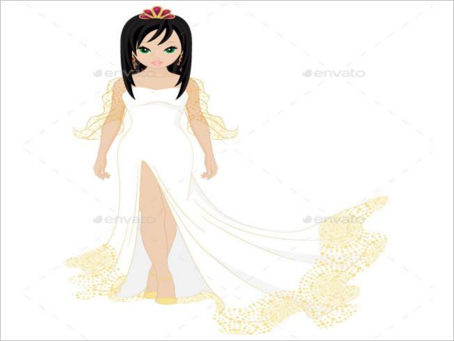 brunette-christmas-wedding-white-dress