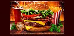 Burger FlyerTemplates- Free PSD, EPS Format Download