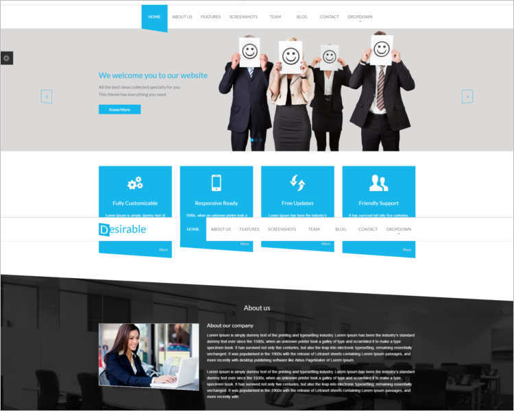 business-landing-page-template