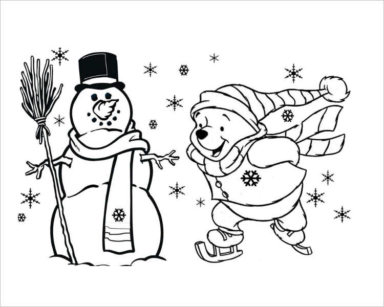 C hristmas Coloring page Templates for Print