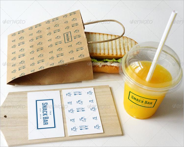 Cafe Branding Mockup Design