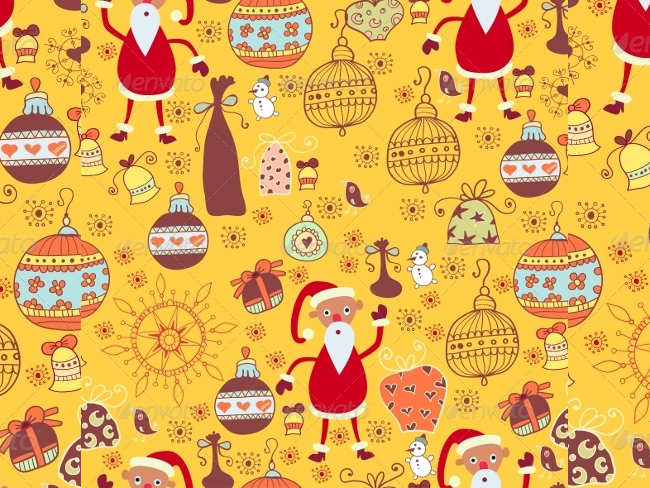cartoon-background-christmas-textures