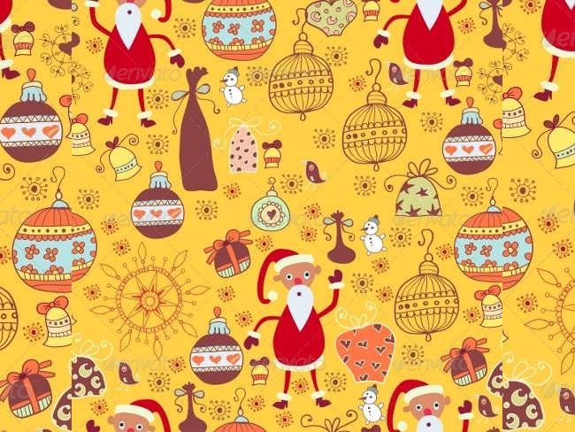 cartoon-background-christmas-textures