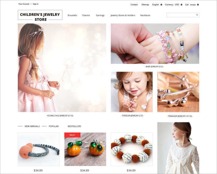 childrens-jewelry-store-prestashop-theme-template