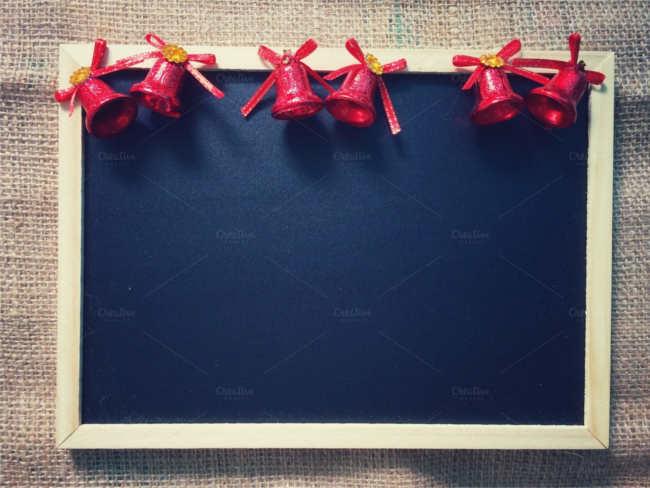 christmas-blackboard-ornaments-design