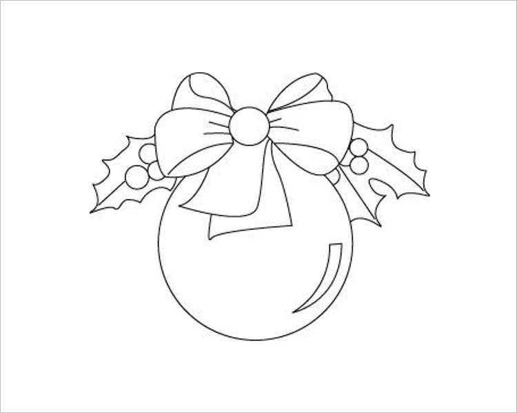 Christmas Decoration Ball Templates For Print