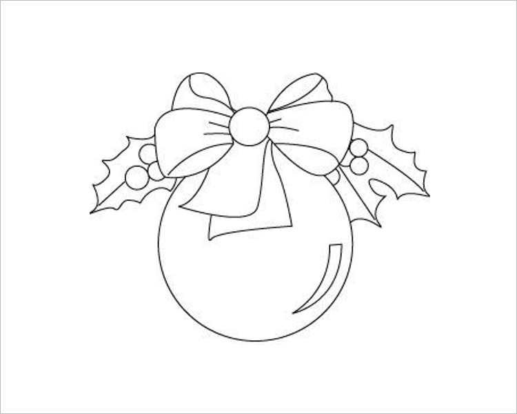 Christmas Decoration Ball Templates For Print