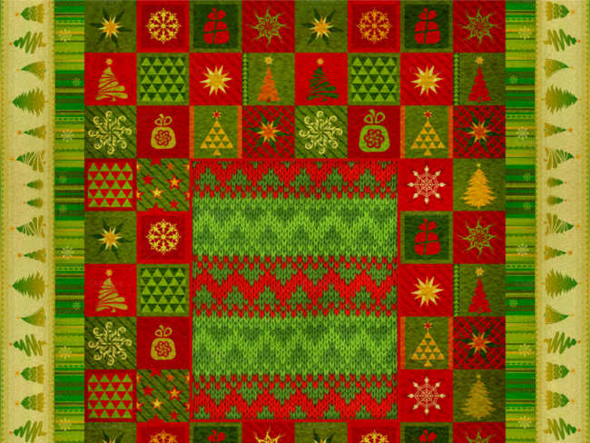 christmas-embroidery-ornament-carpet-design