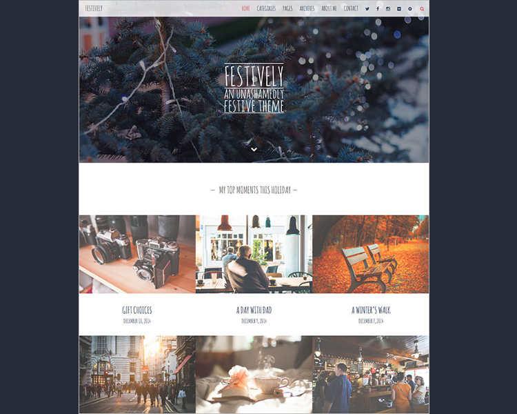 christmas-festive-website-template
