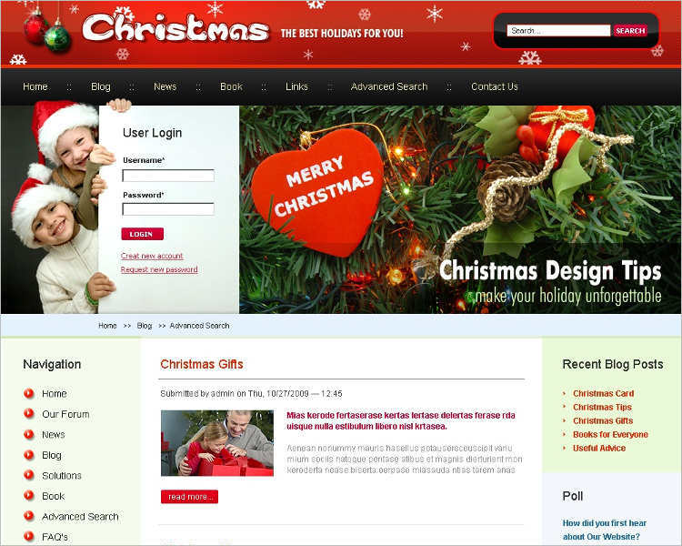 christmas-holiday-website-template