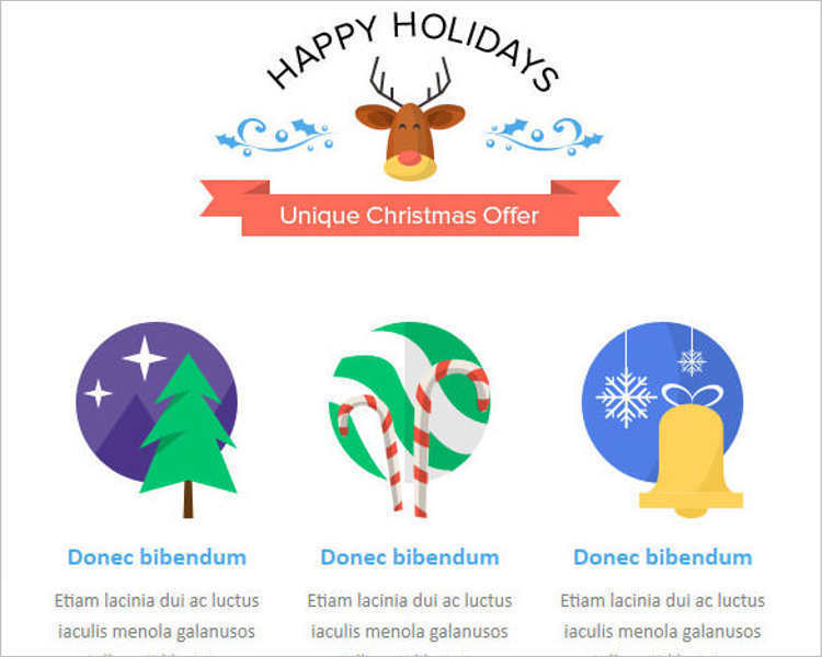 christmas-holidays-email-templates