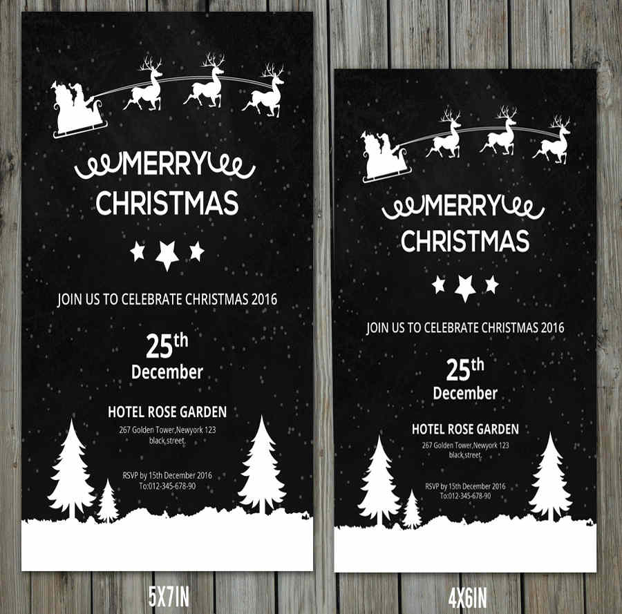 christmas-homeparty-invitation-flyer